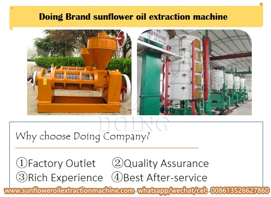 How much is the price of sunflower oil extraction machine manufactured in China?
