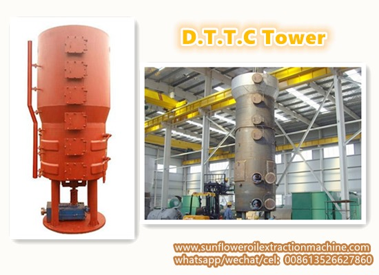 D.T.D.C.system in sunflower oil solvent extraction plant