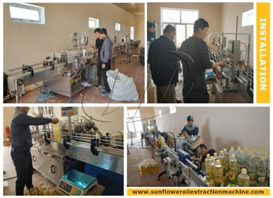 5tpd sunflower oil filling plant project in Uzbekistan