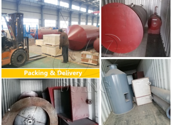All the machines of 5tpd sunflower oil refinery plant project are ready to send to Ukraine