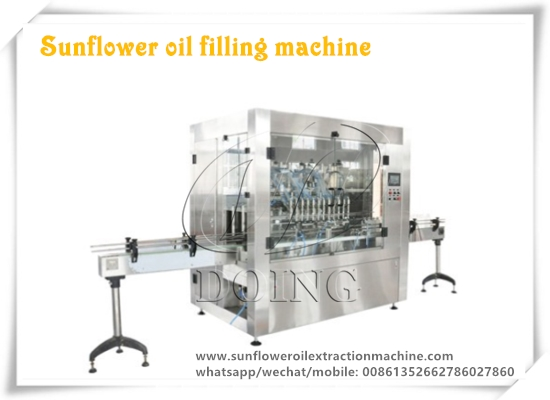 Peruvian customer ordered a set of sunflower oil filling machine again