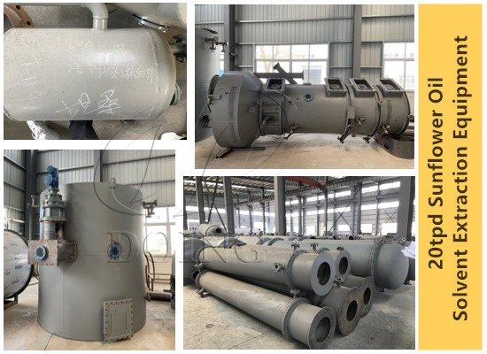 20tpd sunflower seeds oil solvent extraction machines are going to deliver to Tanzania