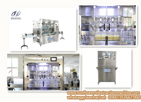 Sunflower oil filling machine