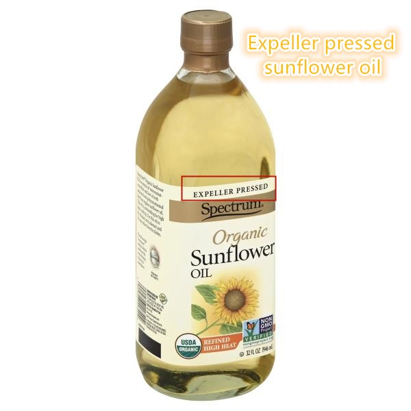 expeller pressed sunflower oil
